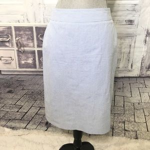 346 Brooks Bros straight pencil skirt